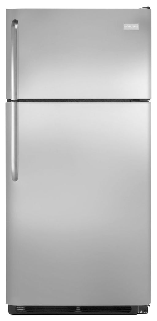 Frigidaire 18 Cu. Ft. Stainless Steel Top Freezer Refrigerator FFTR1821TS
