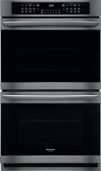 Frigidaire Gallery FGET3066UD 30-Inch Double Electric Wall Oven In Black Stainless Steel