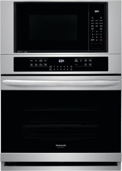 Frigidaire Gallery FGMC3066UF 30-Inch Electric Wall Oven/Microwave Combination In Stainless Steel