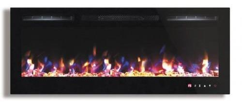 FlameHaus FH-45-CLR-3 45 Inch Multi Color Fireplace with Touch Screen and Remote control - Fireplace - FlameHaus - Topchoice Electronics
