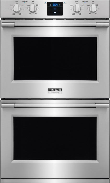 Frigidaire Professional FPET3077RF 30'' Double Electric Wall Oven - Stainless Steel - Smudge Proof - Wall Oven - Frigidaire Professional - Topchoice Electronics