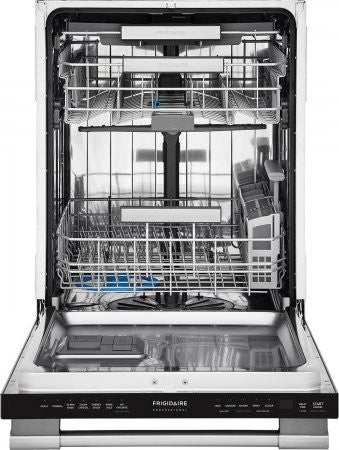 Frigidaire Professional FPID2498SF 24'' Built-In Dishwasher with EvenDry™ System - Stainless Steel - Smudge Proof - Dishwasher - Frigidaire Professional - Topchoice Electronics