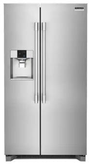 Frigidaire Professional FPSC2278UF 2.0 Cu. Ft. Counter-Depth Side-by-Side Refrigerator In Stainless Steel
