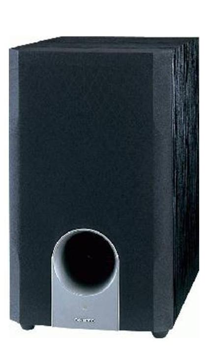 Onkyo SKW-204 10-Inch High Value High Impact Subwoofer (Black)