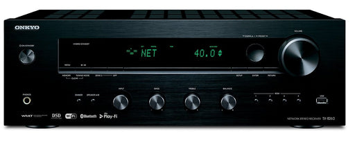 Onkyo TX8260 Network Stereo Receiver with Built-In Wi-Fi & Bluetooth in Black