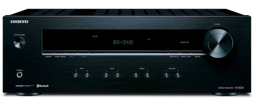 Onkyo TX8220 2 Channel Stereo Receiver with Bluetooth in Black
