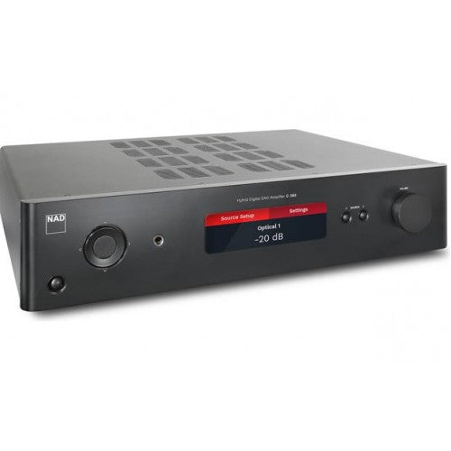 NAD Integrated Amplifier C 368 with pre-installed MDC BluOS - Amplifier - NAD Electronics - Topchoice Electronics