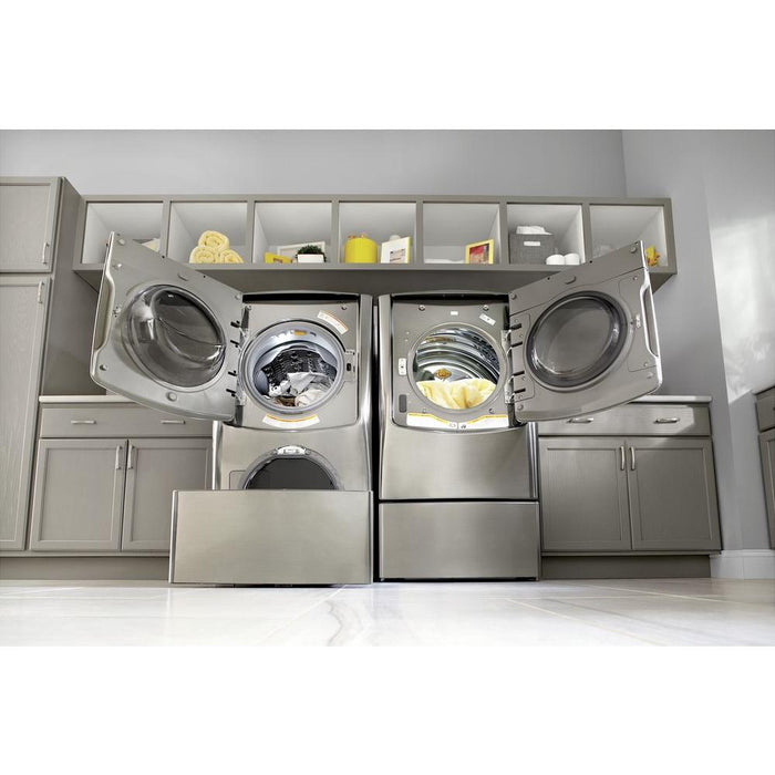 LG WM9000HVA 5.2 Cu. Ft. Large Smart Wi-Fi Enabled Front Load Washer TurboWash in Graphite Steel