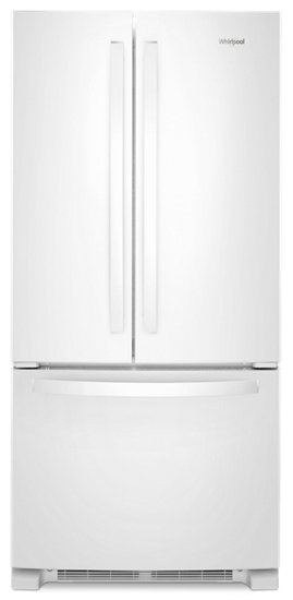 Whirlpool 22 Cu Ft 33 Inch Wide French Door Refrigerator