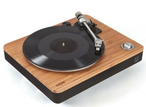 House of Marley 'Stir It Up' USB Turntable with Solid Bamboo Plinth EM-JT000-SB
