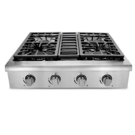 Thor Kitchen 30 Inch Professional Gas Rangetop in Stainless Steel - HRT3003U with 2 Year Parts and Labor Warranty