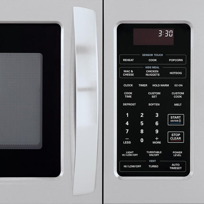 LG LMV1852ST 1.8 cu.ft. Over-the-Range Microwave with EasyClean® Interior in Stainless Steel