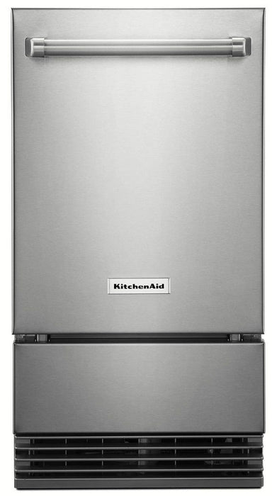 KitchenAid KUIO338HSS 18-Inch Outdoor Automatic Ice Maker