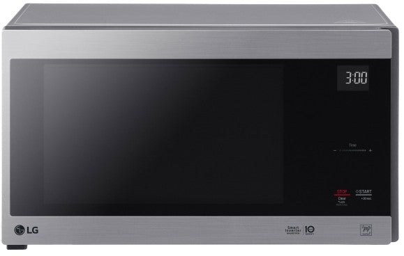 LG LMC1575ST 1.5 cu. ft. NeoChef™ Countertop Microwave with Smart Inverter and EasyClean® in Stainless Steel