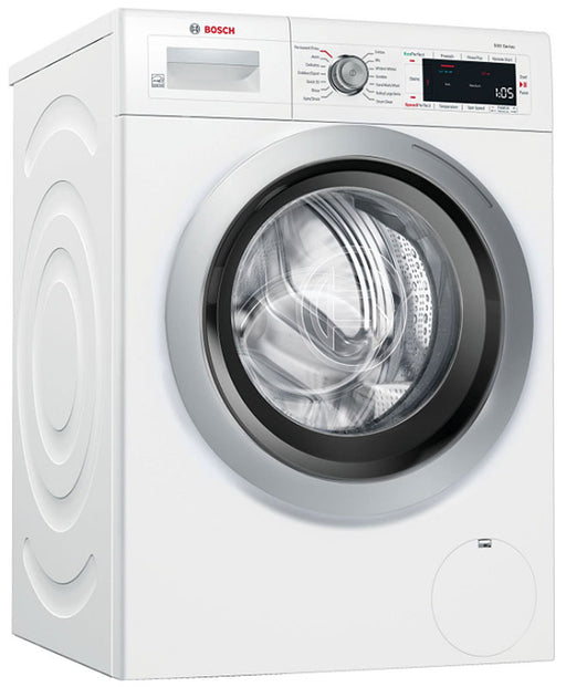 BOSCH WAW285H1UC 500 Series 24 Inch Compact Front Load Smart Washer In White