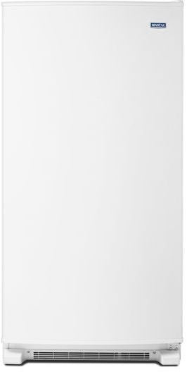 Maytag MZF34X18FW 18 Cube Feet Frost Free Upright Freezer with LED Lighting In White