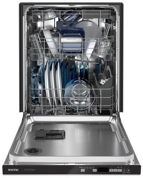 Maytag MDB8959SKZ Top Control Dishwasher With Third Level Rack And Dual Power Filtration In Fingerprint Resistant Stainless Steel