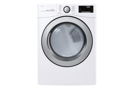 LG DLE3500W 7.4 cu. ft. Electric Dryer with Ultra Large Capacity and Sensor Dry - ENERGY STAR® in White