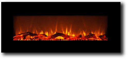 50 Inch Multi Color Fireplace with Touch Screen and Remote control