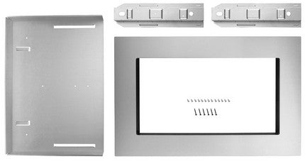 "KitchenAid MK2167AS 27"" Trim Kit for 1.6 cu. ft. Countertop Microwave Oven - Stainless Steel"