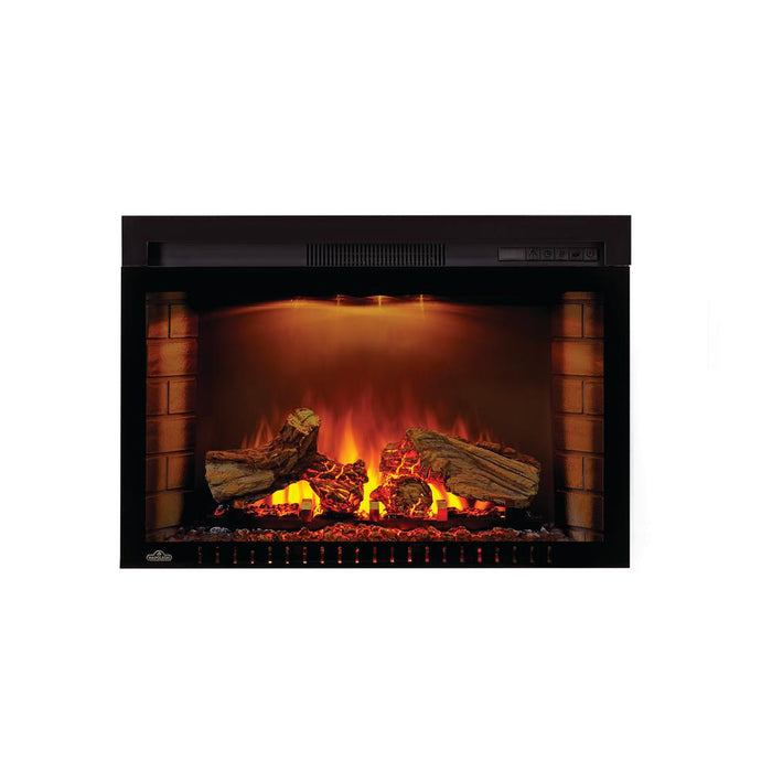 Napoleon NEFB29H-3A Electric Fire place Cinema Log 29 inch - Black - Fireplace - Napoleon - Topchoice Electronics