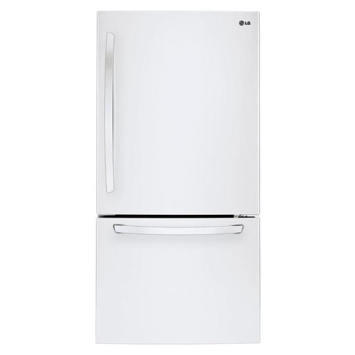 LG LDNS22220W 30'' Bottom Freezer Drawer Refrigerator with Inverter Linear Compressor, 22 cu.ft. in  White