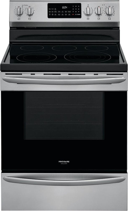 Frigidaire Gallery GCRE306CAF 30-Inch Electric Range In Stainless Steel
