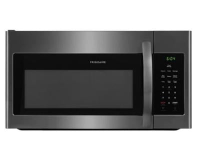 Frigidaire CFMV1645TD 1.6 Cu. Ft. Over-The-Range Microwave in Black Stainless Steel