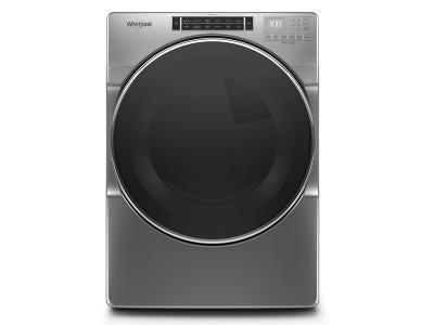 Whirlpool YWED8620HC 7.4 cu. Ft. Front Load Electric Dryer with Steam in Chrome Shadow - ENERGY STAR® In Chrome Shadow
