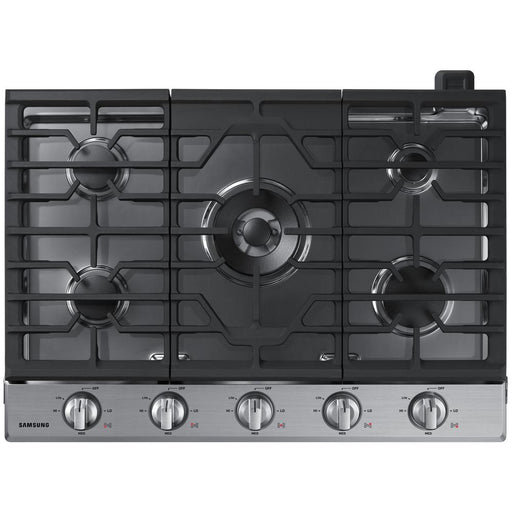 Samsung NA30N6555TS/AA 30inch 5-Burner Gas Cooktop In Stainless Steel