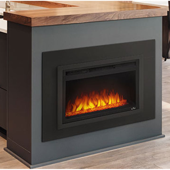 Napoleon Cinema 24 Inch Electric Fireplace with Crystals - NEFB24HG-3A