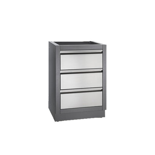 Napoleon OASIS Three Drawer Cabinet - BBQ Grill Attachments - Napoleon - Topchoice Electronics