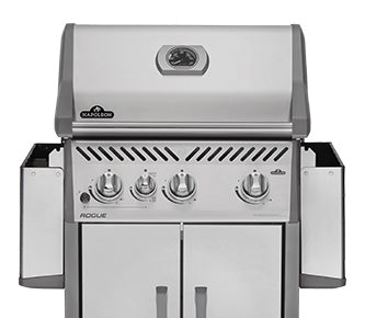 Napoleon Rogue  525 with Infrared Side Burner BBQ Grill - BBQ Grill - Napoleon - Topchoice Electronics
