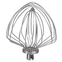 KitchenAid KA7QSSEW Stainless Steel Elliptical Whip for 7 Quart Bowl Lift Stand Mixer - Parts and Accessories - KitchenAid - Topchoice Electronics