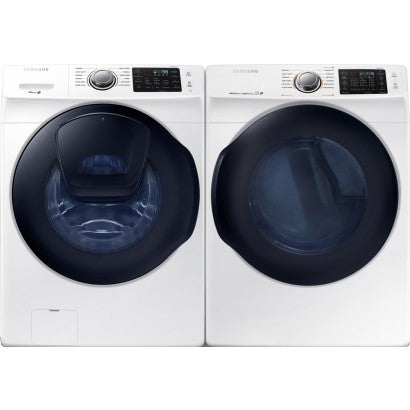 Samsung 6200 Series Washer and Electric Dryer Set in White colour