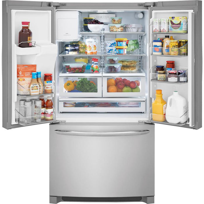Frigidaire Gallery 21.9 Cu. Ft. Counter-Depth French Door Refrigerator Smudge Proof - Refrigerator - Frigidaire Gallery - Topchoice Electronics