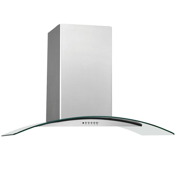 Frigidaire FHWC3060LS 30'' Glass Canopy Wall-Mount Hood - Stainless Steel - Range Hood - Frigidaire - Topchoice Electronics