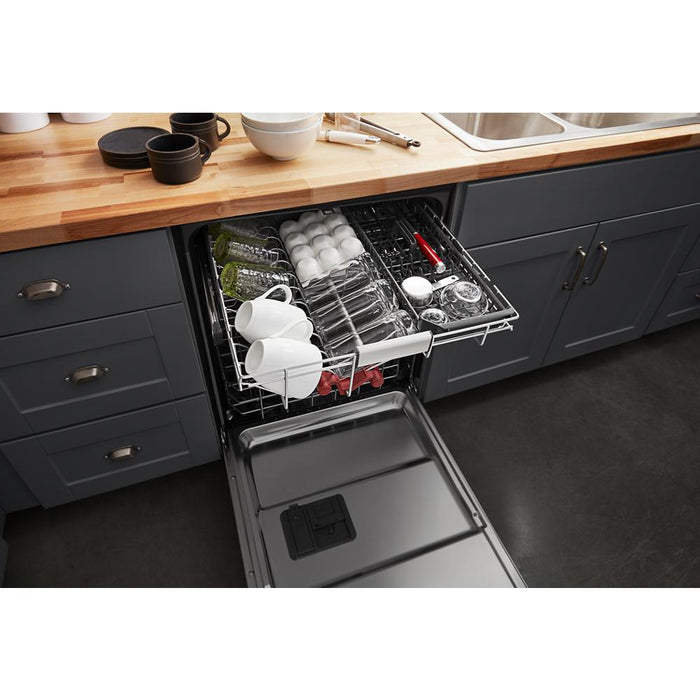 KitchenAid KDFM404KPS 44 dBA Dishwasher in PrintShield Finish with FreeFlex Third Rack In Stainless Steel