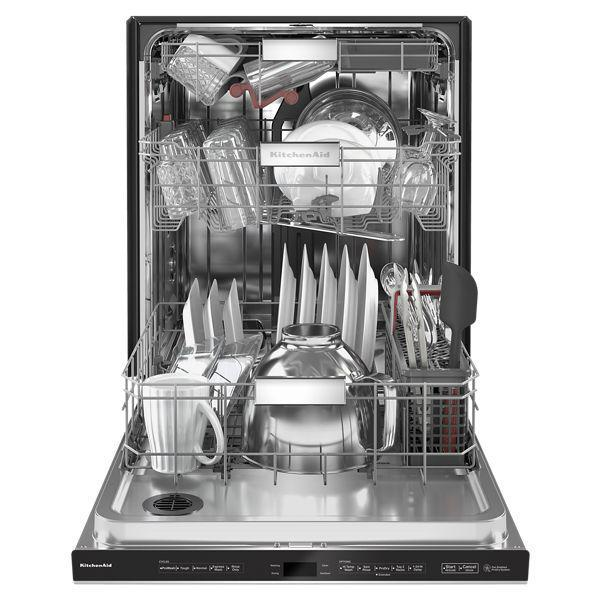 KitchenAid KDTM704KPS 44 dBA Dishwasher With FreeFlex Third Rack And LED Interior Lighting In Stainless Steel