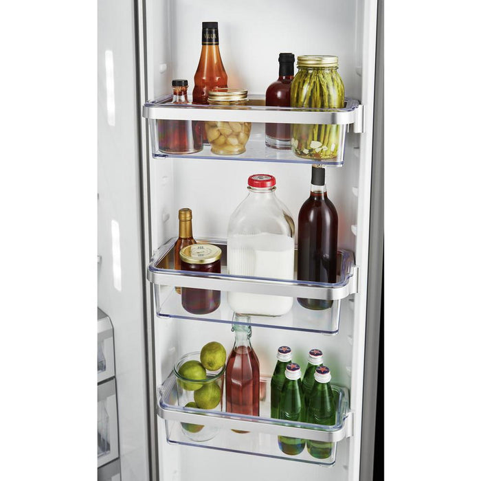 KitchenAid KRSF705HPS 24.8 Cu. Ft. Side-by-Side Refrigerator With Exterior Ice And Water And PrintShield Finish In Stainless Steel