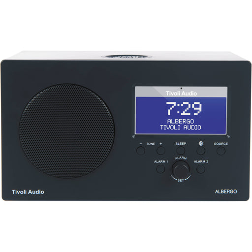 Tivoli Audio Albergo AM FM Clock Radio Bluetooth Enable Speaker - Speakers - Tivoli Audio - Topchoice Electronics