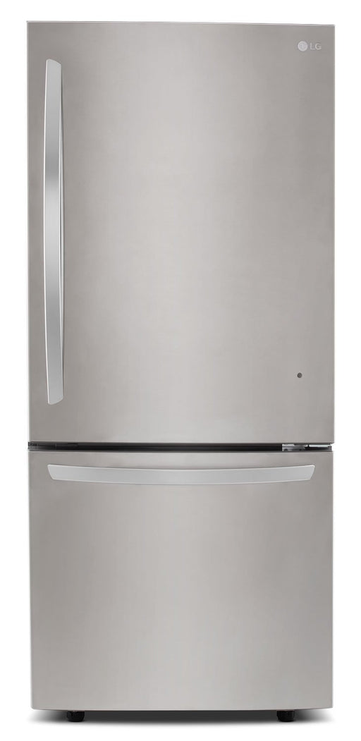 LG LDNS22220S 30'' Bottom Freezer Drawer Refrigerator with Inverter Linear Compressor, 22 cu.ft. in  Stainless Steel
