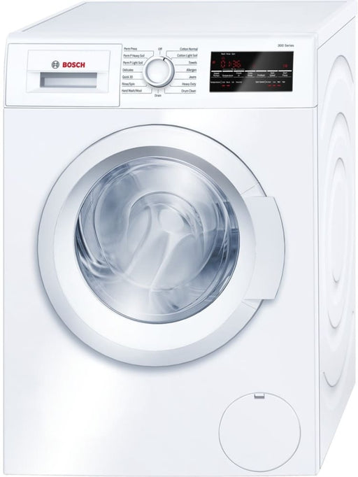 BOSCH WAT28400UC 300 Series 24 Inch Front Load Washer In White
