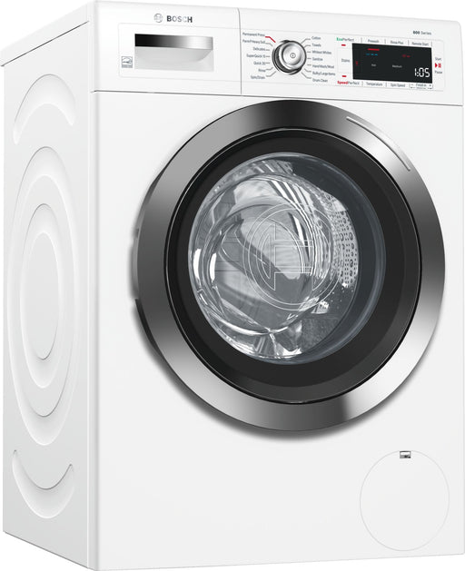 BOSCH WAW285H2UC 800 Series 24 Inch Compact Smart Washer In White