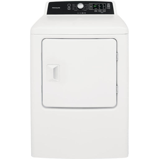 Frigidaire FFRG4120SW 6.7 Cu. Ft. Free Standing Gas Dryer In White