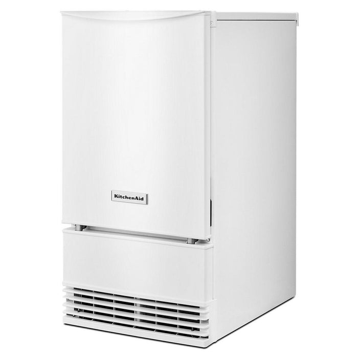 KitchenAid KUID508HWH 18-Inch Automatic Ice Maker In White