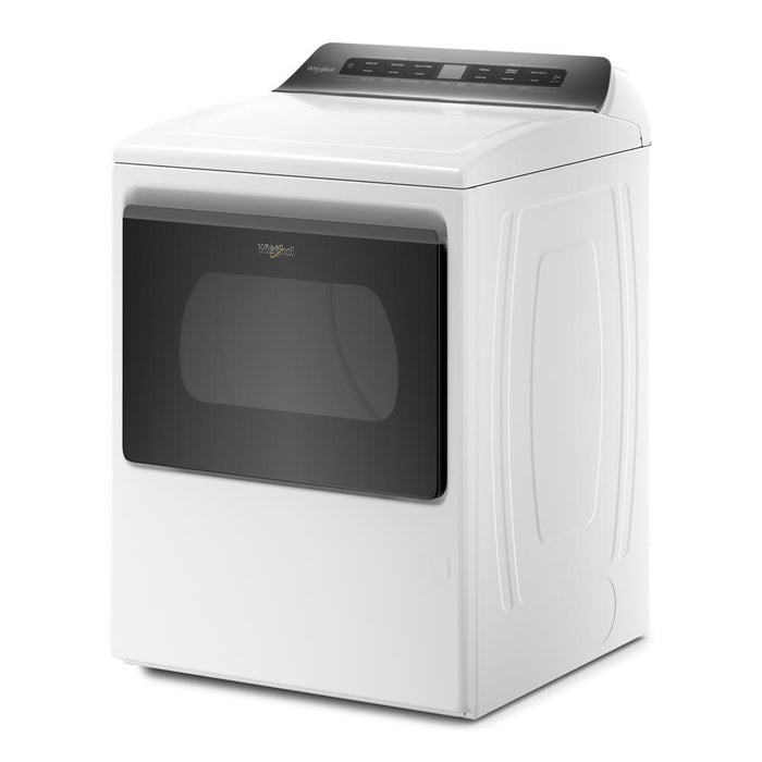 Whirlpool WGD5100HW  7.4 cu. ft. Top Load Gas Dryer with Intuitive Controls In White