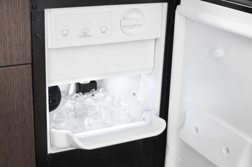 Whirlpool WUI75X15HB 15-inch Icemaker with Clear Ice Technology in Black