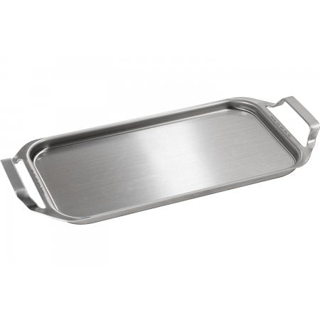 Monogram JXGRIDL1 Clad Aluminum Griddle in Stainless Steel