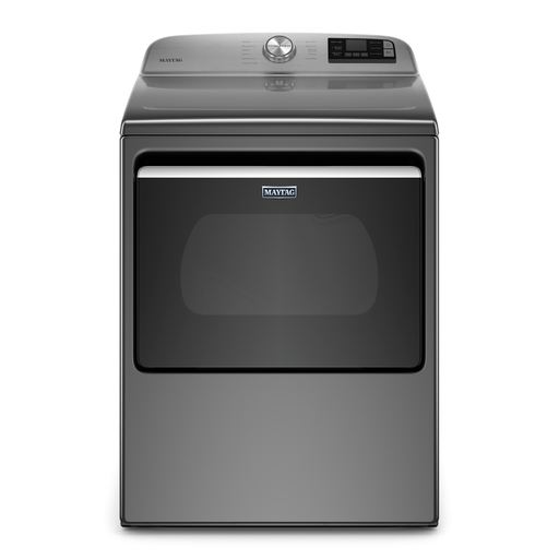Maytag YMED6230HC 7.4 Cu. Ft. Smart Top Load Electric Dryer With Extra Power Button In Metallic Slate